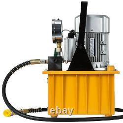 10000PSI 110V 70MPa Electric Hydraulic Pump Pedal Solenoid Valve Great Control
