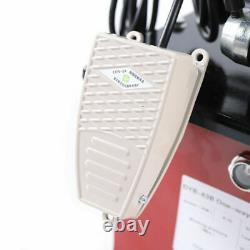 10000PSI Electric Driven Hydraulic Pump Single Acting Manual Valve 110V 63MPa OD