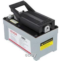 10,000 PSI 10 Ton Porta Power Hydraulic Air Foot Pump Control Lift 170PSI