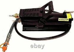 10 Ton Air & Hydraulic Pump Frame Machine Porta Power Air Foot Body Dent Repair