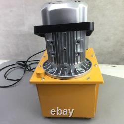 110V 63MPa Electric Driven Hydraulic Pump 10000PSI Single Acting Manual Valve US