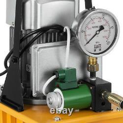 110V 70MPa 10000PSI Electric Driven Hydraulic Pump Pedal Solenoid valve Control