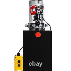 20 Quart Single Acting Hydraulic Pump Dump Trailer Remote Unit Pack Crane