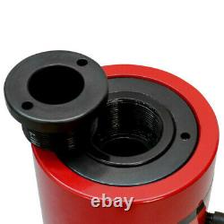 20 Ton Hollow Plunge Hydraulic Cylinder 100mm Stroke 210mm Closed Height