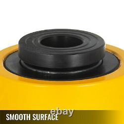 20 tons 4 Hollow Plunger Hydraulic Cylinder Jack Automotive Body Single Acting