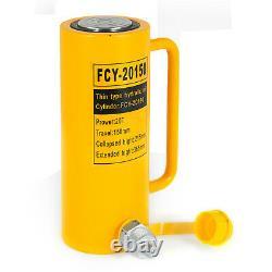20 tons 6 stroke Single Acting Hydraulic Cylinder 10000PSI Jack Ram