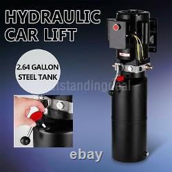 220V Car Lift Hydraulic Power Unit Single Acting Hydraulic Pump Vehicle Hoist#