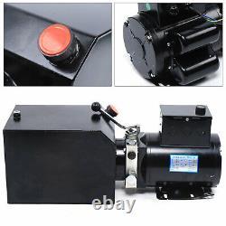 220v Car Lift Hydraulic Power Unit Auto Lift Hydraulic Pump Lift Gates 60hz 14l
