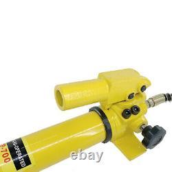 2 Speed Power Pack Hose Coupler 10000 PSI / 700Bar 350cc Hydraulic Hand Pump US