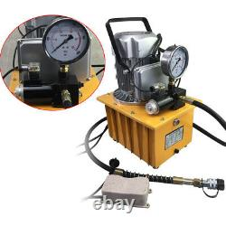 2 Stage Electric Driven Hydraulic Pump Double Acting 110V 60HZ 10000psi US Ship