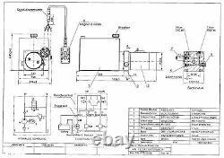 3215S Hydraulic Power Unit, Hydraulic pump, Single acting 12V 15Qt, Dump Trailer