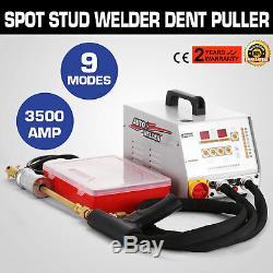 3500A Vehicle Panel Spot Puller Dent Spotter Welder Bonnet/Door Repair UPDATED