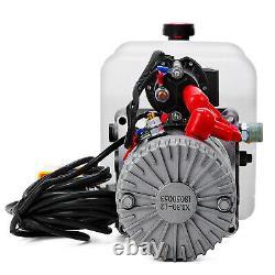 4/4.5/6/7/8/10/12/13/15/20L Single Acting Hydraulic Power Unit 12V Pump Crane