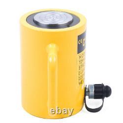 50-Ton Hydraulic Cylinder Jack Single Acting 4Stroke (100mm) Lifting Jack Ram