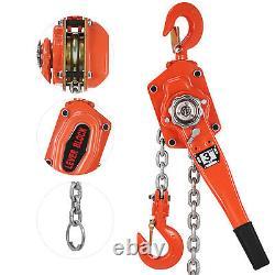 6600lb Chain Hoist Lever Block Hoist Come Along Ratchet Lift 3Ton