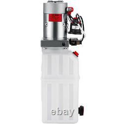 8 Quart Single Acting Hydraulic Pump Dump Trailer Unit Pack Reservoir Lifting