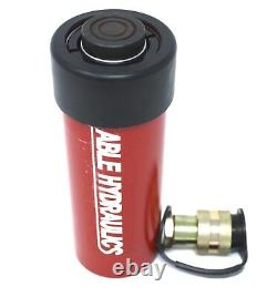 Able Hydraulics 10 Ton 6 Inch Stroke Single Acting Cylinder