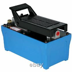 Air Hydraulic Pump Foot Operated Pump with 6FT Hose Single Acting AW-46 10000PSI