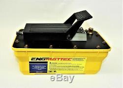 Air Operated Hi Pressure Hydraulic Pedal Pump 10,000 PSI / 680 Bar