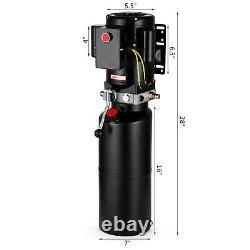 Auto 220V Car Lift Hydraulic Power Unit Pump 2.64Gal Single Phase Vehicle Hoist