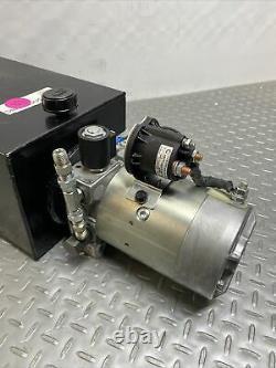 Concentric 12 Volt DC Power Unit Solenoid Operation, Single Acting, 1261096 P-3