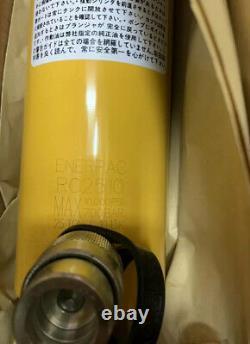 ENERPAC RC2510 Hydraulic Cylinder 25 Ton 10.25 Stroke NEW