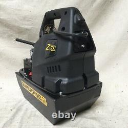 ENERPAC ZU4308MB High Force Hydraulic Electric Pump Manual 3 Way/Position Valve