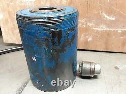 EUROPRESS 30 Ton Hollow Hydraulic Jack Cylinder CMF30N50 Spring return, 700 bar