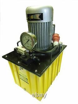 Electric Driven Hydraulic Pump 10000 PSI (Single acting manual valve) 10 Gallon