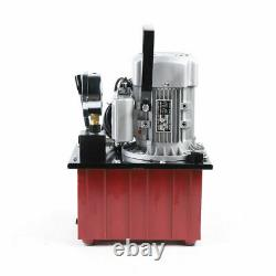 Electric Driven Hydraulic Pump 10000 PSI (Single acting manual valve) 750W 7L