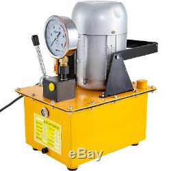 Electric Hydraulic Pump Single Acting Manual Valve 10000 PSI 7L Oil Capacity