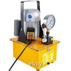 Electric Hydraulic Pump Single Acting Manual Valve 10000 PSI 8L Oil Capacity