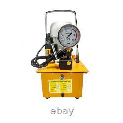 Electric Hydraulic Pump Single Acting Manual Valve Control 750W 110V