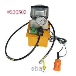 Electric Hydraulic Pump System for Industrial Single Solenoid Valve 110V 10KPSI