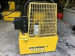 Enerpac Electric Hushh-Pump 1 HP 115 VOLTS 1 PHASE