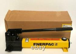 Enerpac P2282 Two-Speed High Pressure Hydraulic Hand Pump 2800 Bar/40,000 Psi
