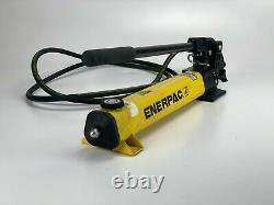 Enerpac P392 Hydraulic Hand Pump 700 Bar/10,000 PSI with Hydraulic Hose USA Made