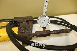 Enerpac P-39 Hydraulic Hand Pump with Hose