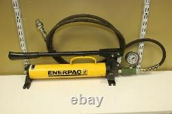 Enerpac P-39 Hydraulic Hand Pumps with Hydraulic Jacks (Pickup Only)