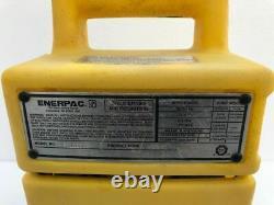 Enerpac Puj1200b Economy Electric Hydraulic Pump 700 Bar/ 10,000 Psi 115v #3