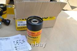 Enerpac RCH121 12 Ton Hydraulic Cylinder Single Acting Center Hole Hollow