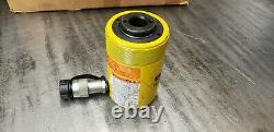 Enerpac RCH202 20-ton x 2 Stroke Hollow Hydraulic Cylinder. USED