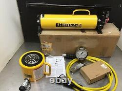 Enerpac RCS1002 SCL1002H Hydraulic Cylinder 100 Ton 10,000 2 Stroke P80 Set