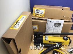 Enerpac RSM200 20 Ton Hydraulic Cylinder Set P142 Pump CR400 HC7206 NEW