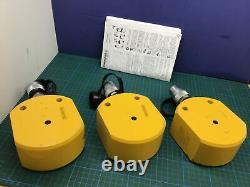 Enerpac RSM-500 NEW! Flat Jac 50 Ton. 63 Stroke Low-Height Hydraulic Cylinder