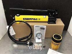 Enerpac SCH202H Set RCH202 Hydraulic Cylinder Hollow Set 20 ton P392 Pump