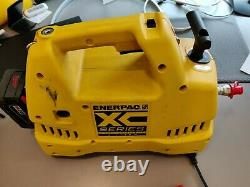Enerpac XC1202M Hydraulic Electric Pump 3/2 Valve 2ltr 230V Single Acting