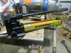 Enerpac two stage hydraulic hand pump Model P-2282 40,000 psi
