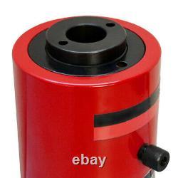 Hollow Plunger 20 Ton Hydraulic Cylinder Jack Ram Lifting 3.93 (100mm) Stroke