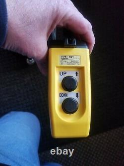 Huskie R14E-H R-14EH 120V Electric Hydraulic Pump 10K-PSI Push-Button Remote